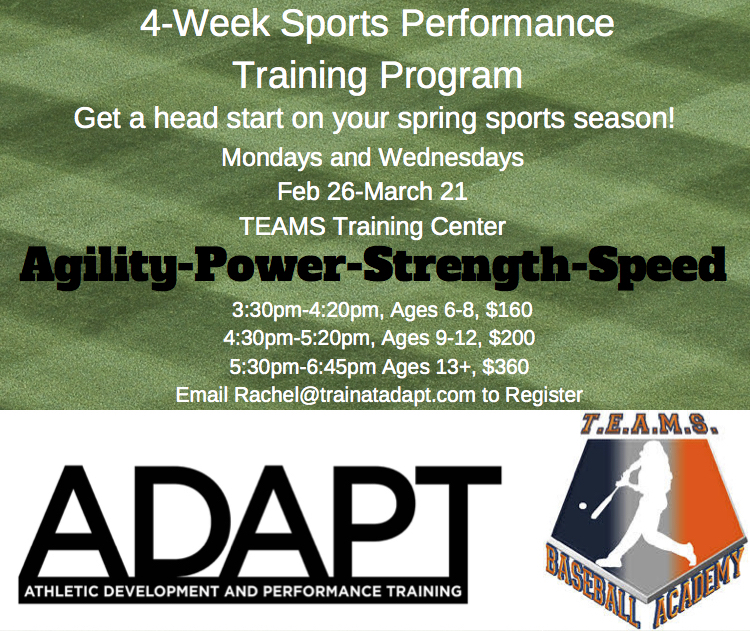 4-Week Sports Performance Training Program